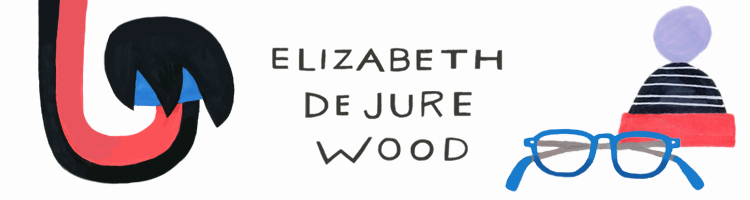 Elizabeth De Jure Wood Illustration