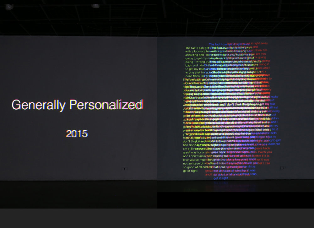 Generally Personalized