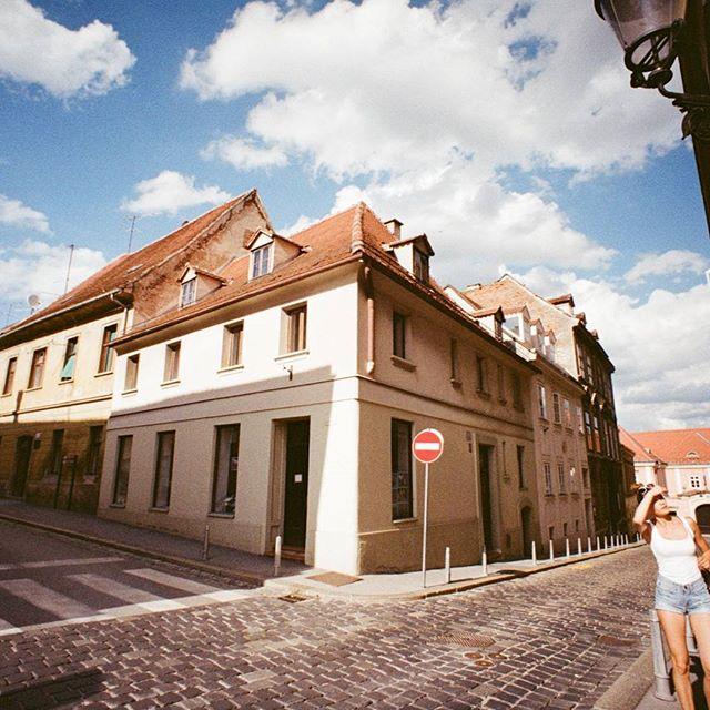 I will always enjoy walking around a new city alone with my camera. *Croatia with my #lomography lomo #lcwide