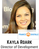 Kayla Roark, Director of Development, France Digitale