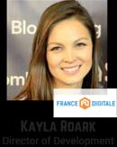Kayla Roark, Director of Development, France Digitale