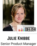 Julie Knibbe, Senior Product Manager