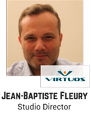 Jean-Baptiste Fleury, Studio Director, Virtuos Games