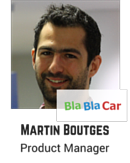 Martin Boutges, Product Manager, BlaBlaCar