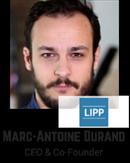 Marc-Antoine Durand, CEO & Founder, LiPP