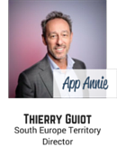 Thierry Guiot, South Europe Territory Director, App Annie