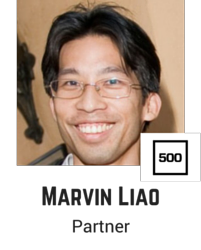 Marvin Liao, 500 Startups.png