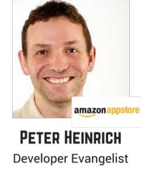 Peter Heinrich, Amazon Appstore.png