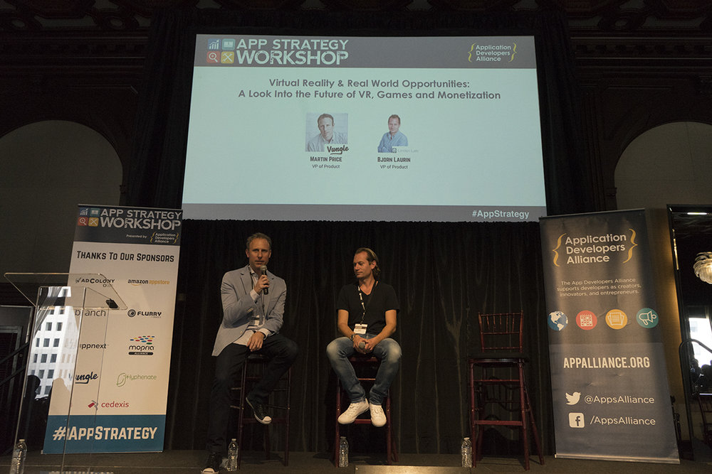 Virtual Reality & Real World Opportunities: The Future of VR, Games & Monetization Fireside Chat