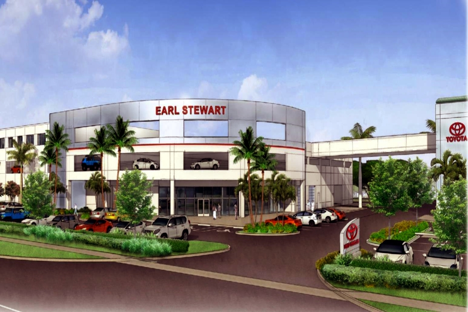 EARL STEWART TOYOTA - W. Palm Beach, FL Earl Stewart Toyota Glidden Spina + Partners
