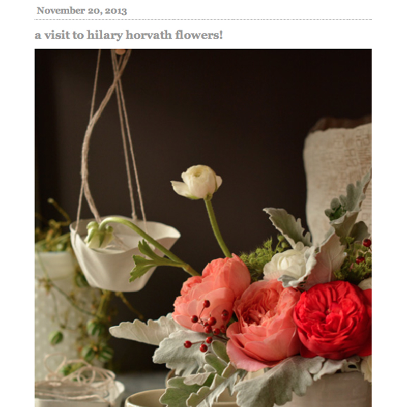 HILARY HORVATH FLOWERS