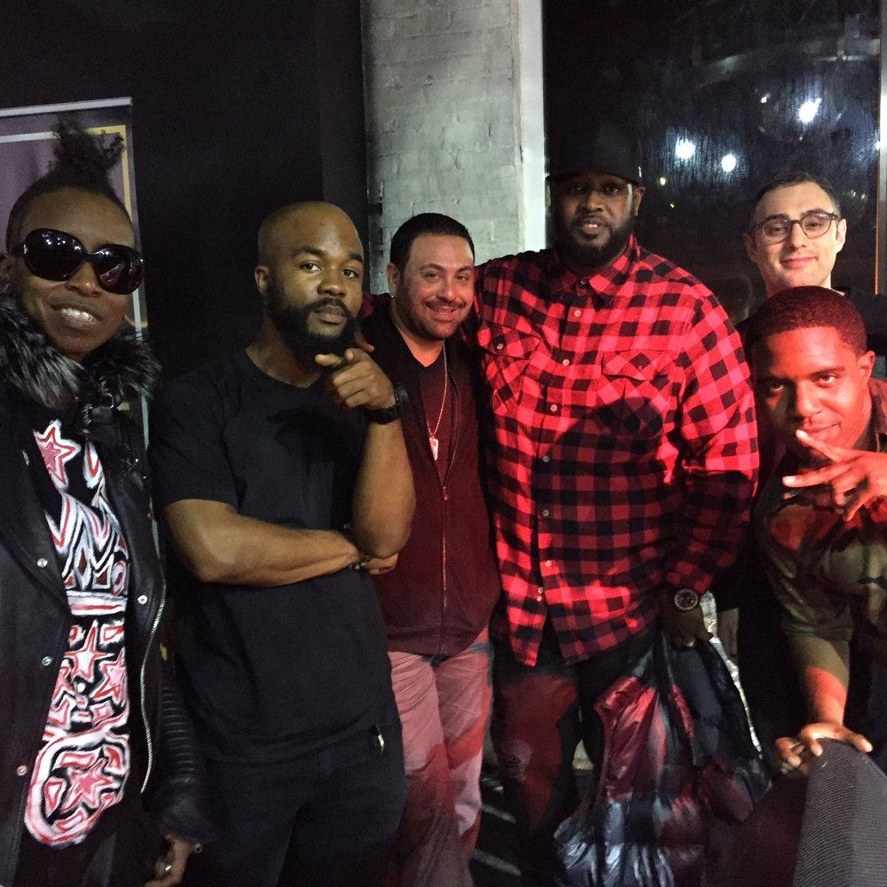 DJ Jazzy Joyce, DJ Skribble, DJ Clark Kent, DJ Shiftee and DJ R-Tistic