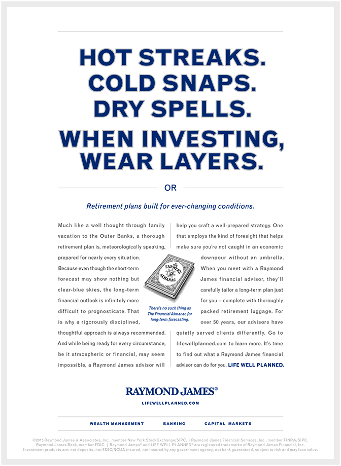 Raymond James Financial — Eric Schlauch - Copywriter