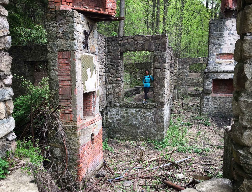 What's left of the Cornish Estate (Cold Spring, NY)