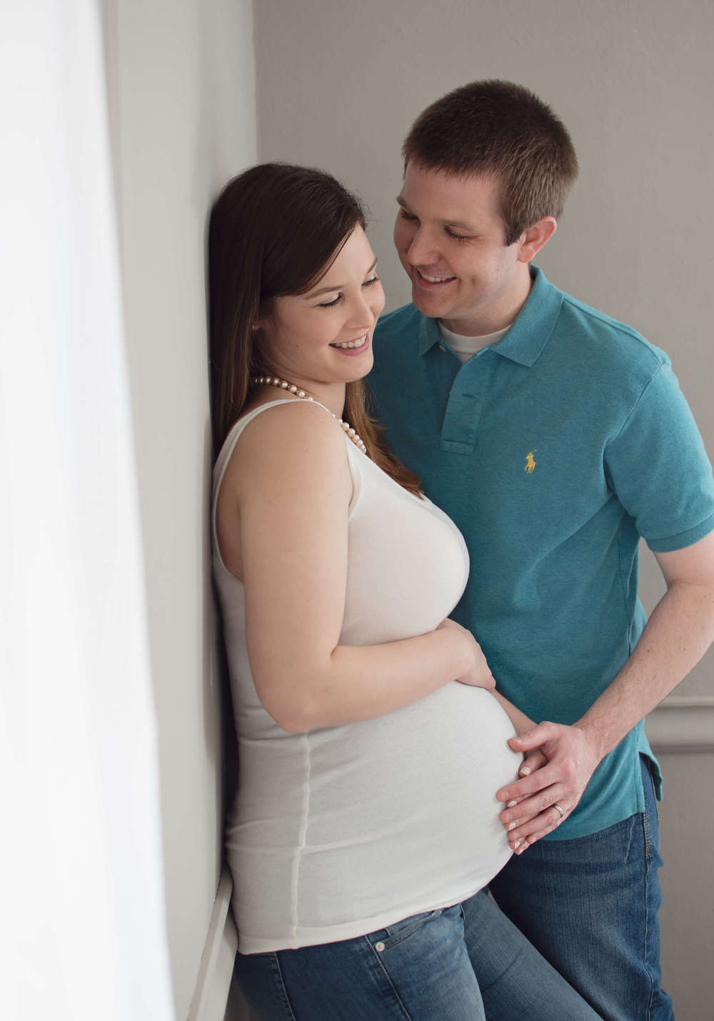 cute maternity session , frederick md