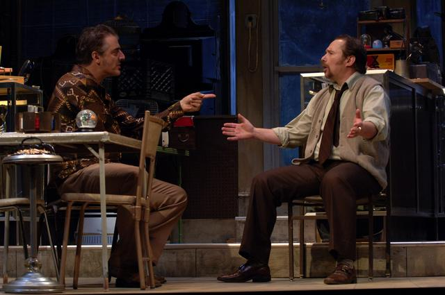 American Buffalo, Berkshire Theatre Festival. Chris Noth & Jim Frangione. Photo by Kevin Sprague