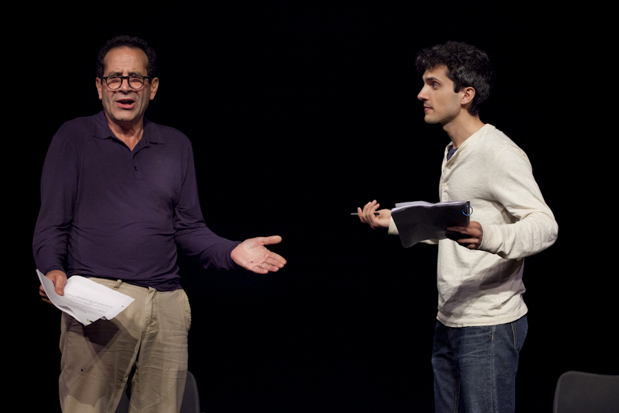 Tony Shalhoub and Charlie Socarides, BPL Gala (2013)