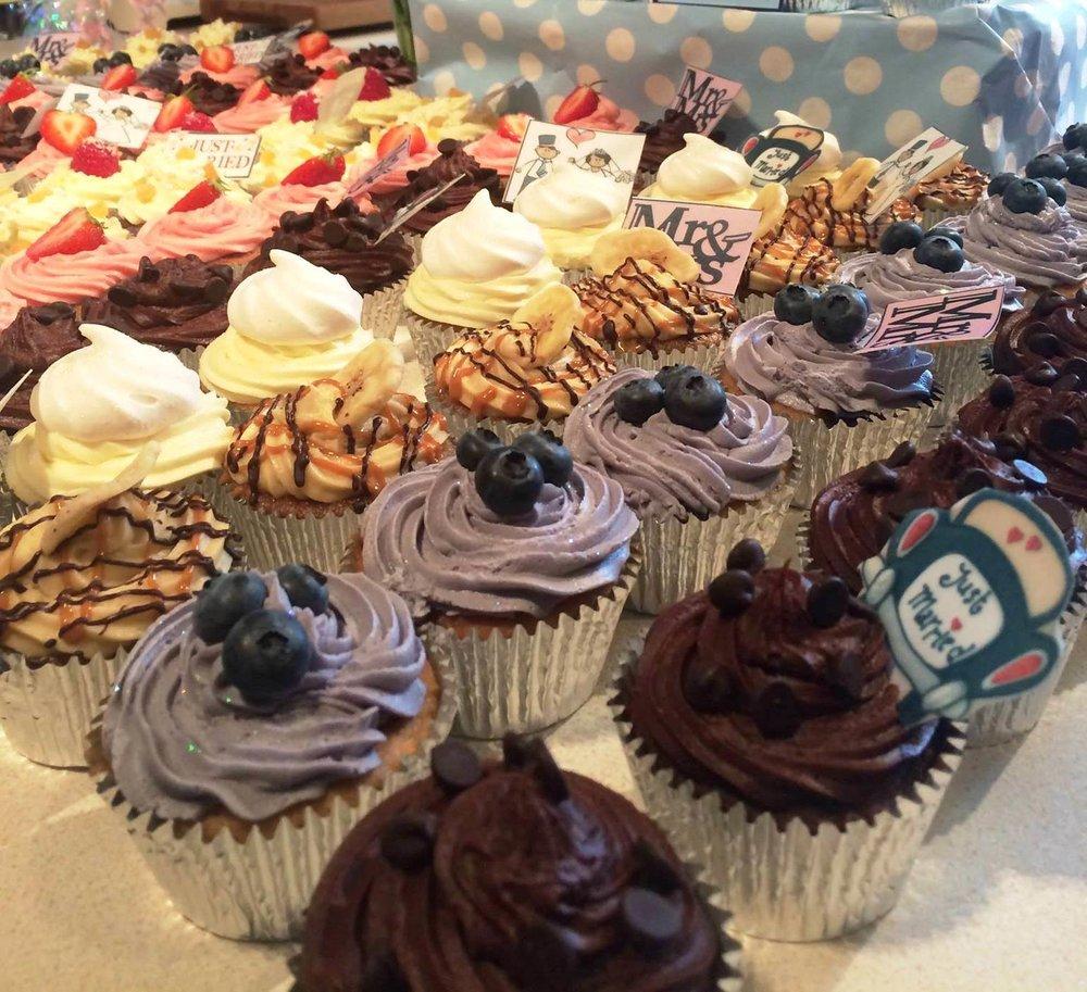 Cupcake-selection