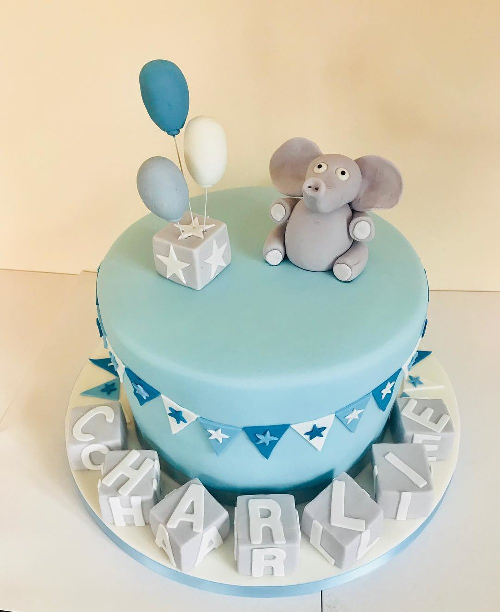 Charlie's Christening Cake, Sutton Coldfield