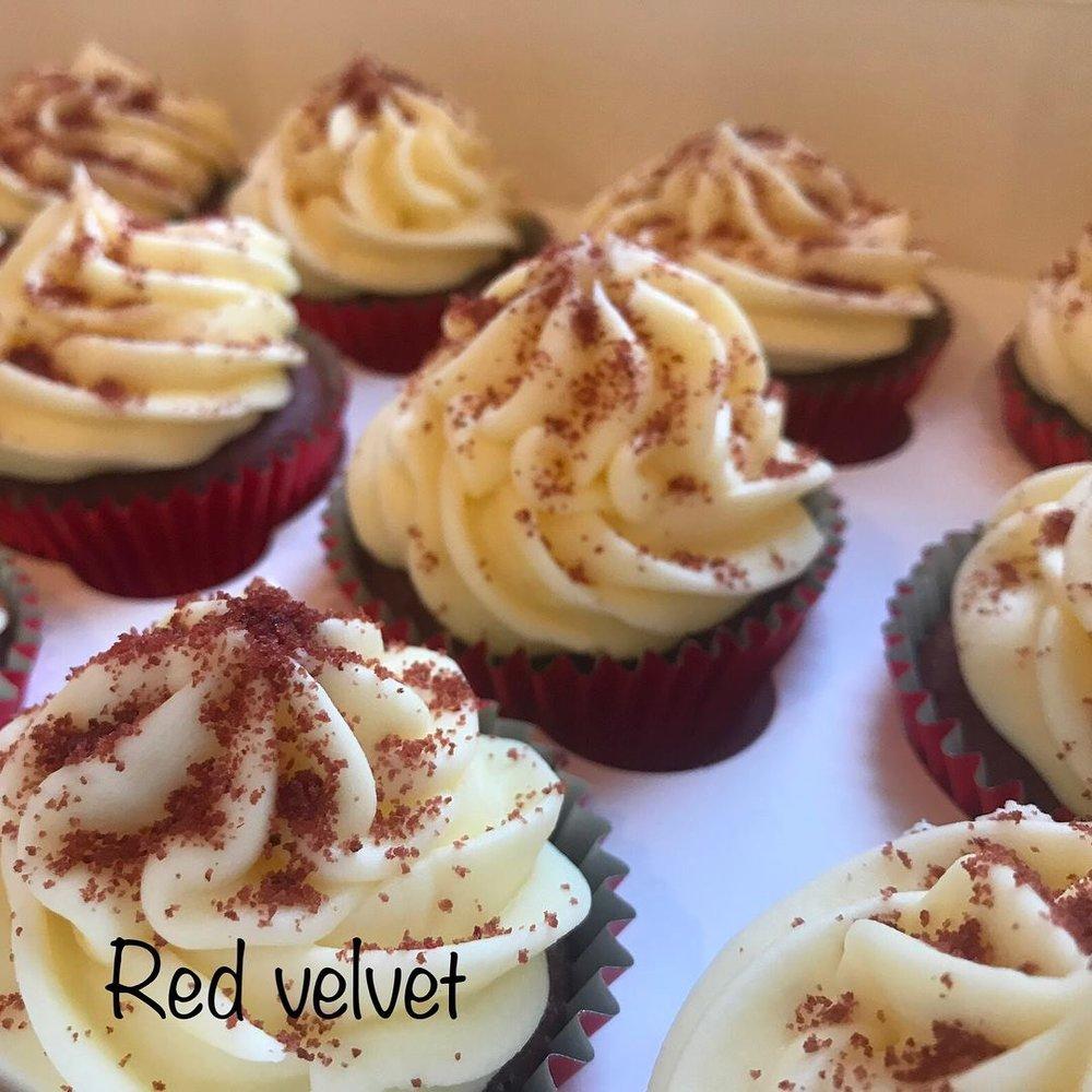 Red velvet cupcakes!