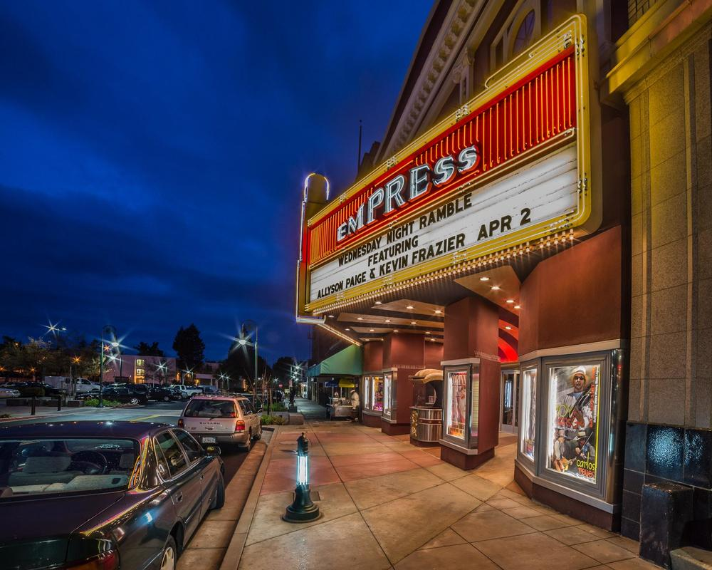 Empress Theatre, Downtown Vallejo. Photo copyright Eric Dugan. Used with permission. ericduganphotgraphy.com
