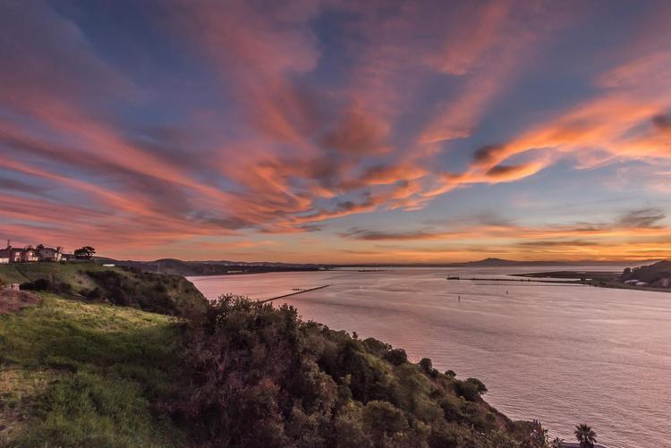 Seawind Sunset Afterglow.Photo copyright Eric Dugan. Used with permission. ericduganphotography.com