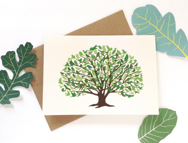 Oak Woodlands Card