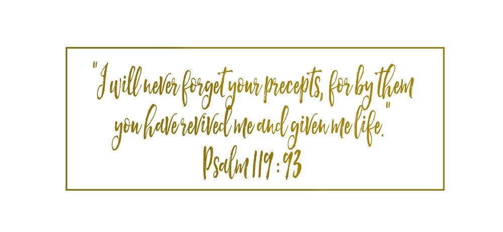 Psalm 119.93