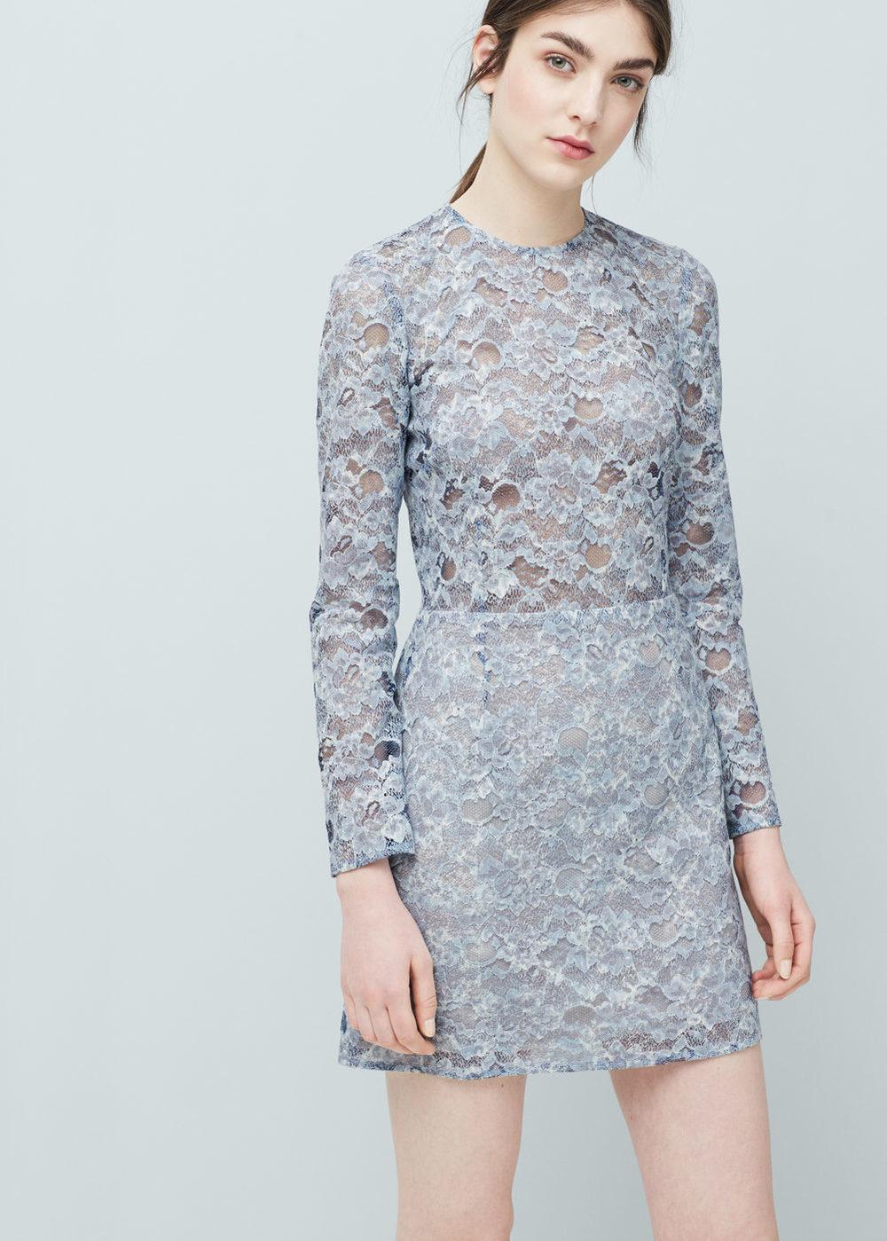 Mango Lace Dress $79.99