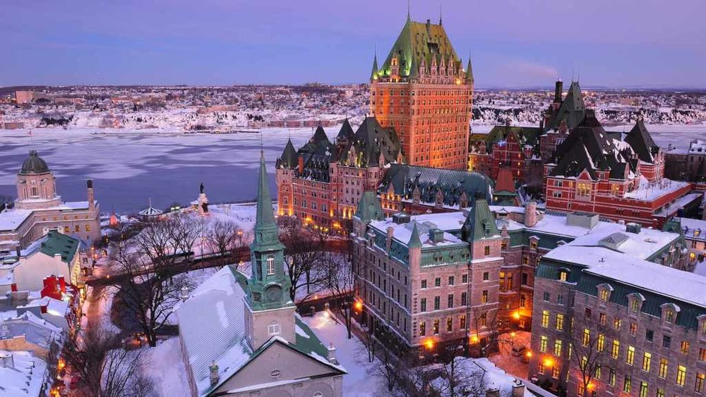Sourced:  Quebec Winter Carnival
