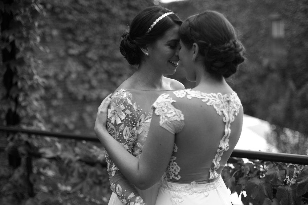 Isa and Silvy NYC lesbian wedding