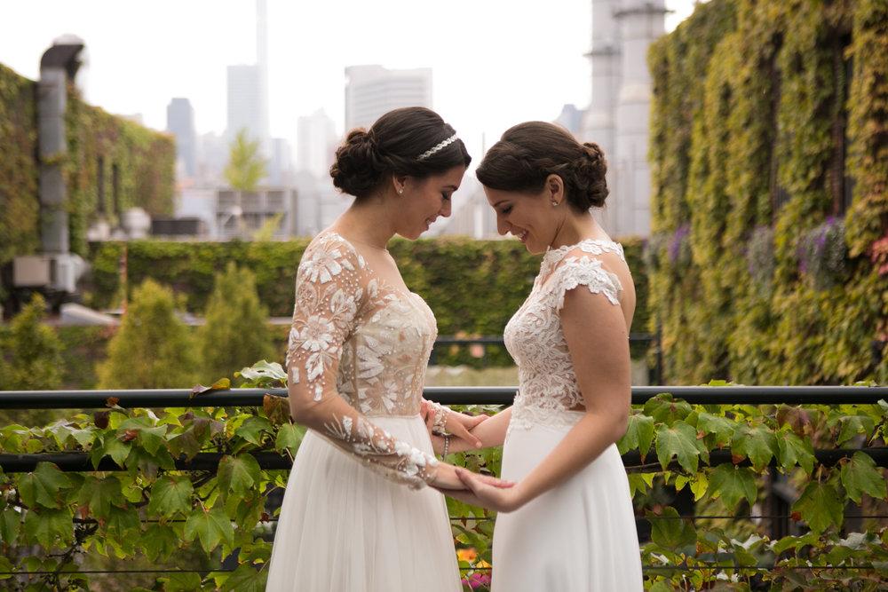 Isa and Silvy Lesbian Wedding NYC