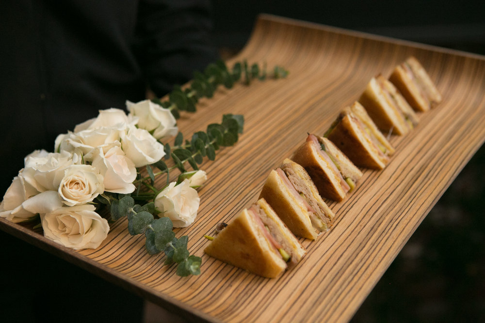 Wedding nibbles