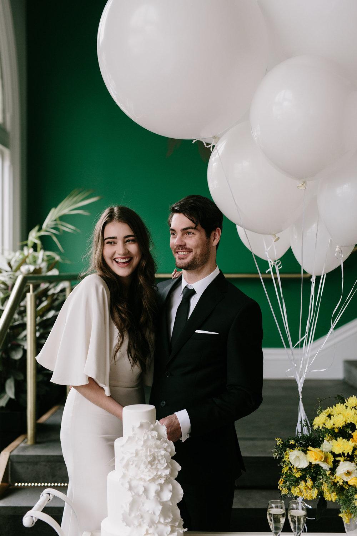 Dancing & Dessert wedding stylist and planner