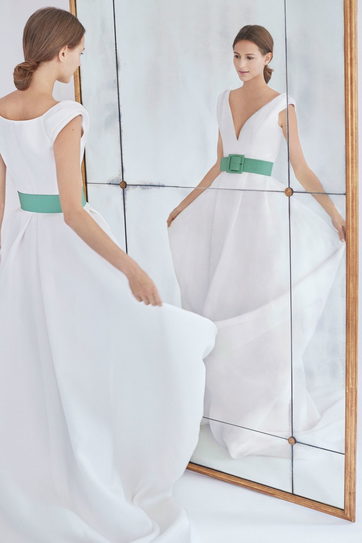 Carolina Herrera Wedding dress 2018