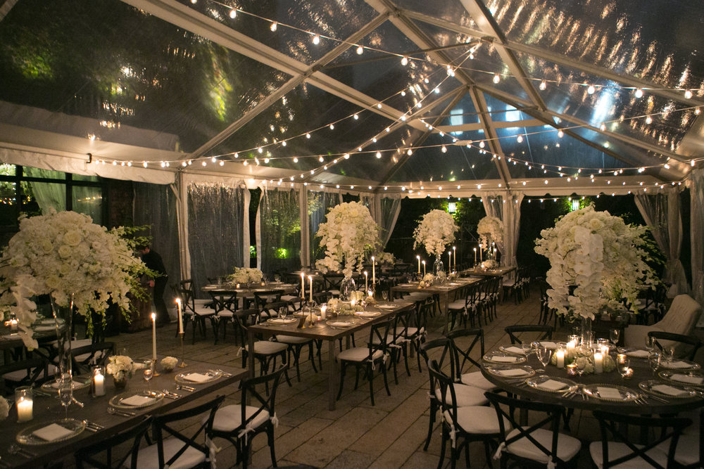 All White New York Wedding The Foundry