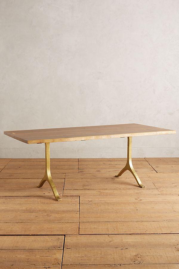 ANTHROPOLOGIE Nemus Dining Table $2,498.00 –$2,798.00
