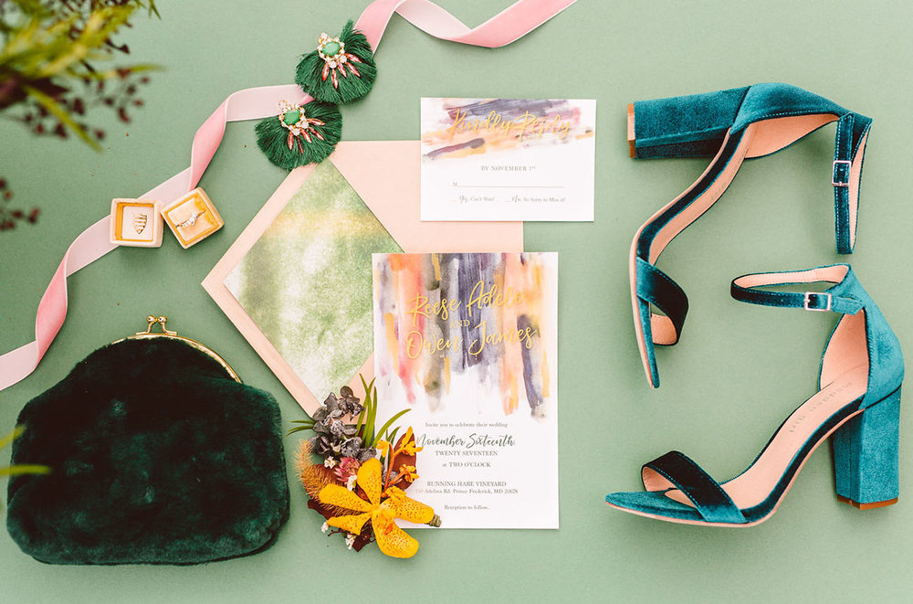 Sourced from:  Green Wedding Shoes