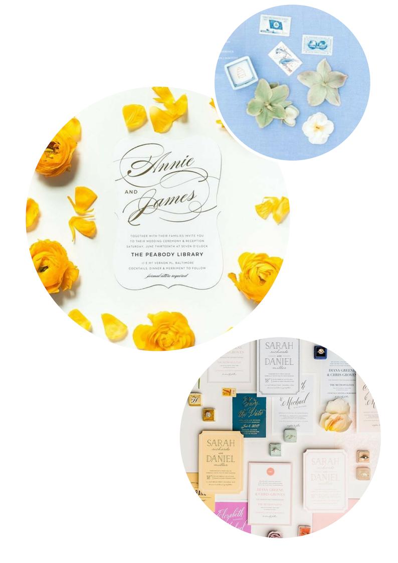 Wedding stationary and design