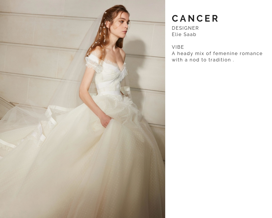 Cancer Wedding Dress