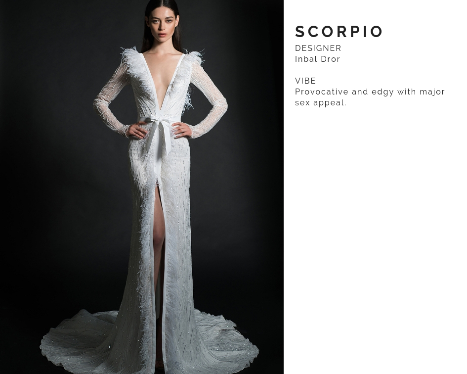 Scorpio Wedding dress