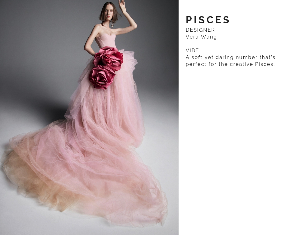 Pisces Wedding Dress