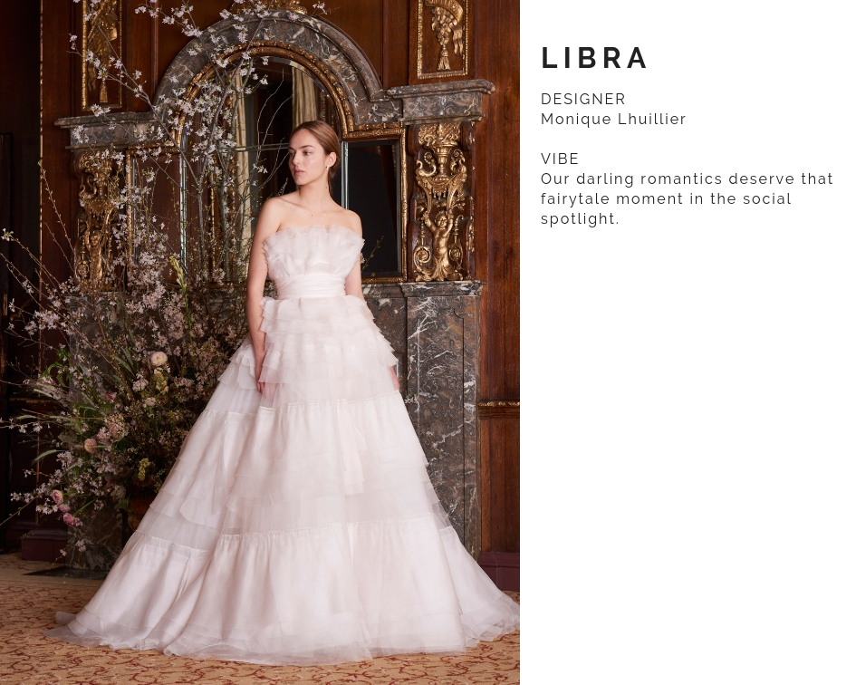 Libra Wedding Dress