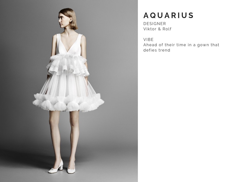Aquarius Wedding Dress
