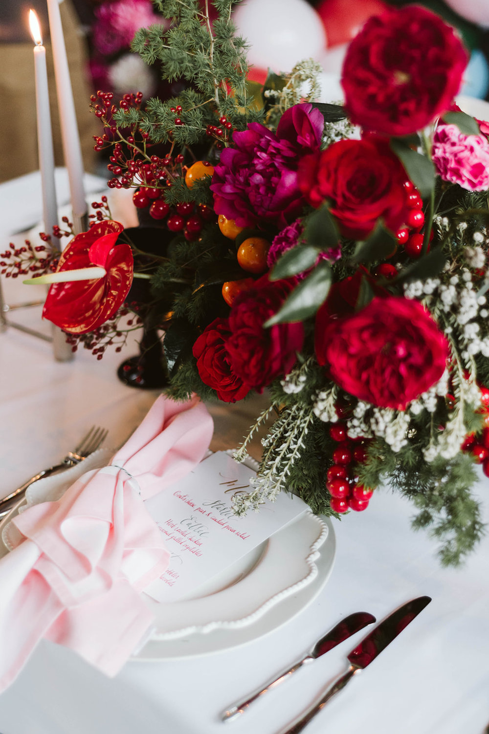 christmas bridal shower