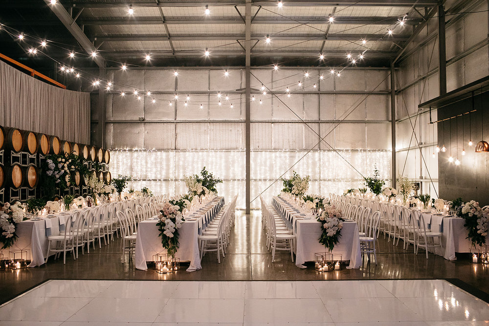 Dancing & Dessert - Melbourne winery wedding