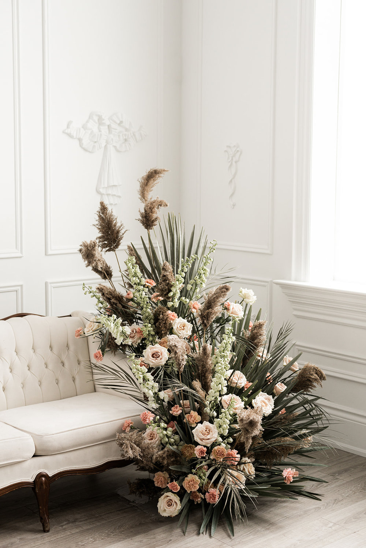 Wedding trend: Dried Flowers