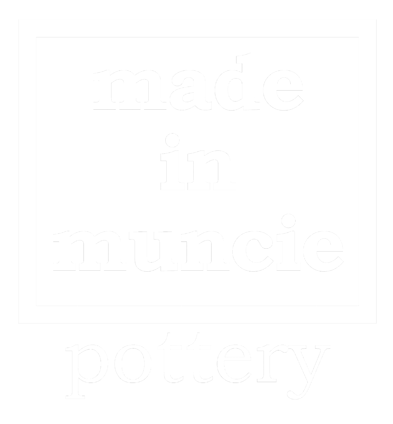 made in muncie pottery