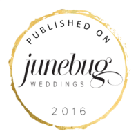 June Bug Wedding Feature