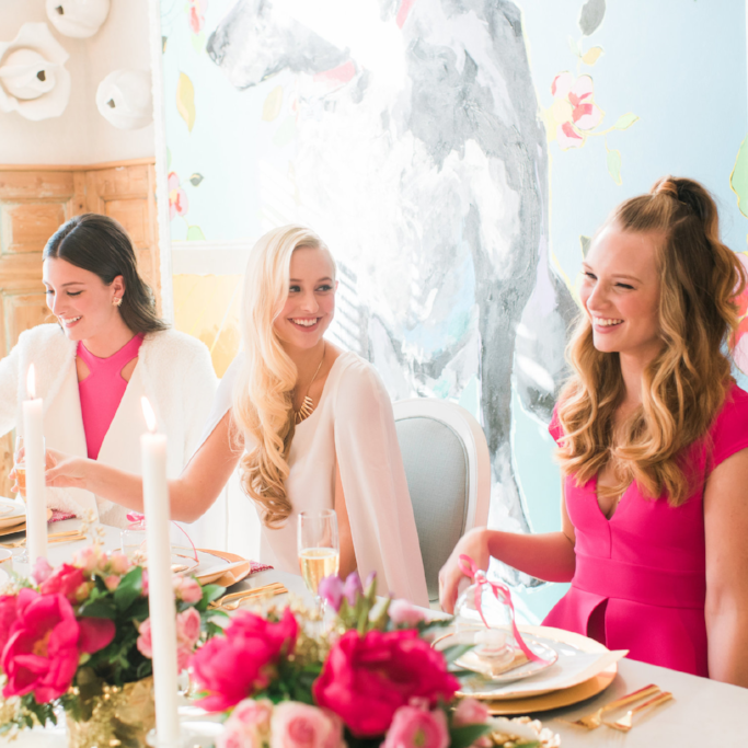 Modern Bridal Brunch